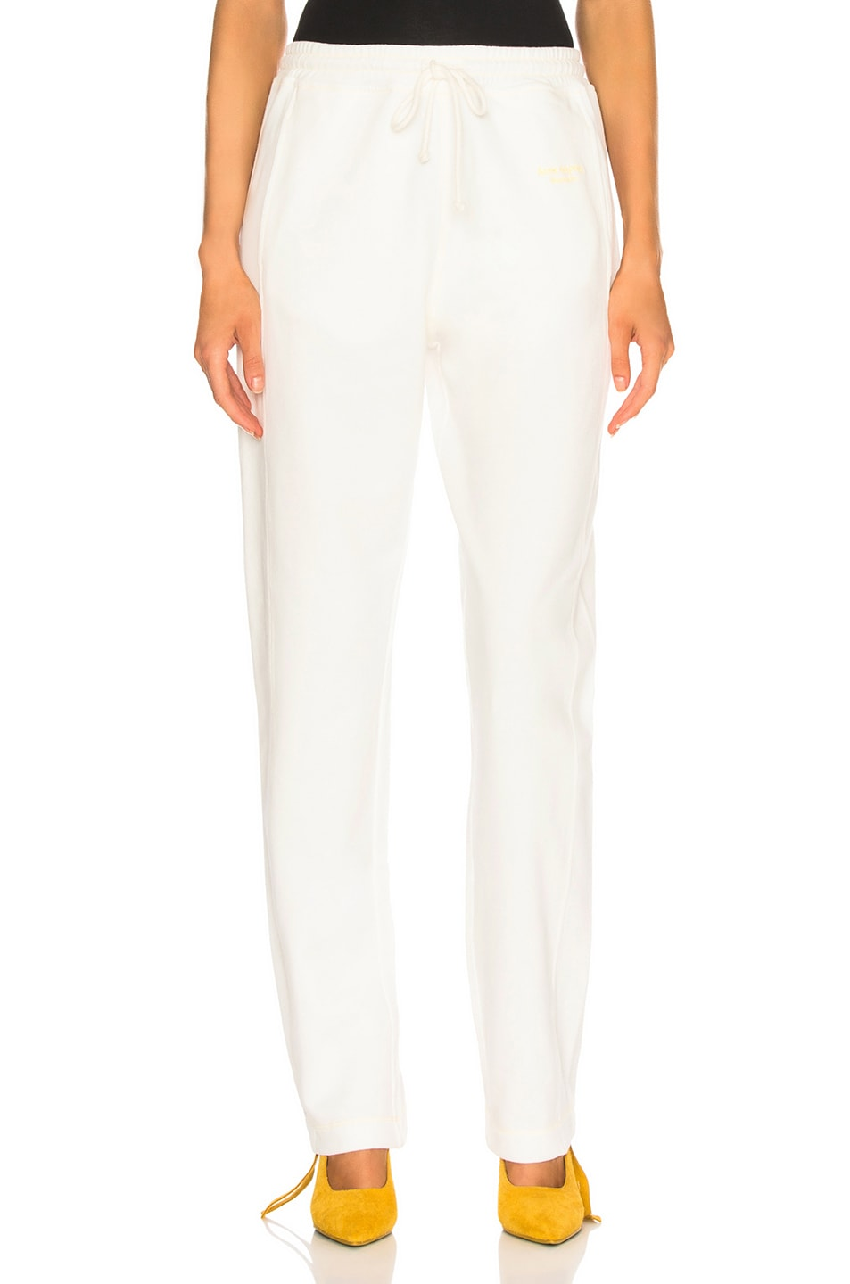 Image 1 of Acne Studios Sweat Pant in White