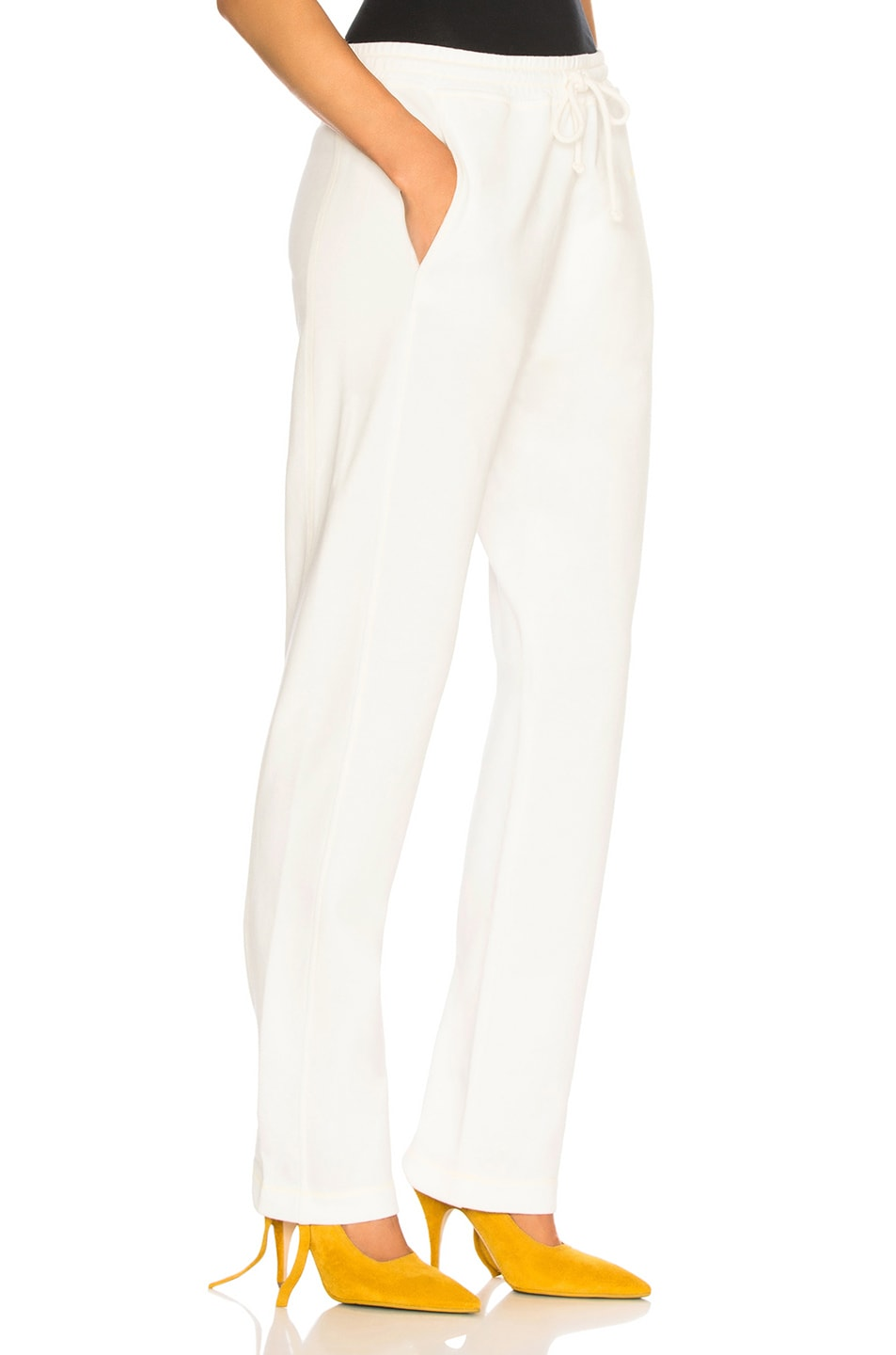 Image 2 of Acne Studios Sweat Pant in White