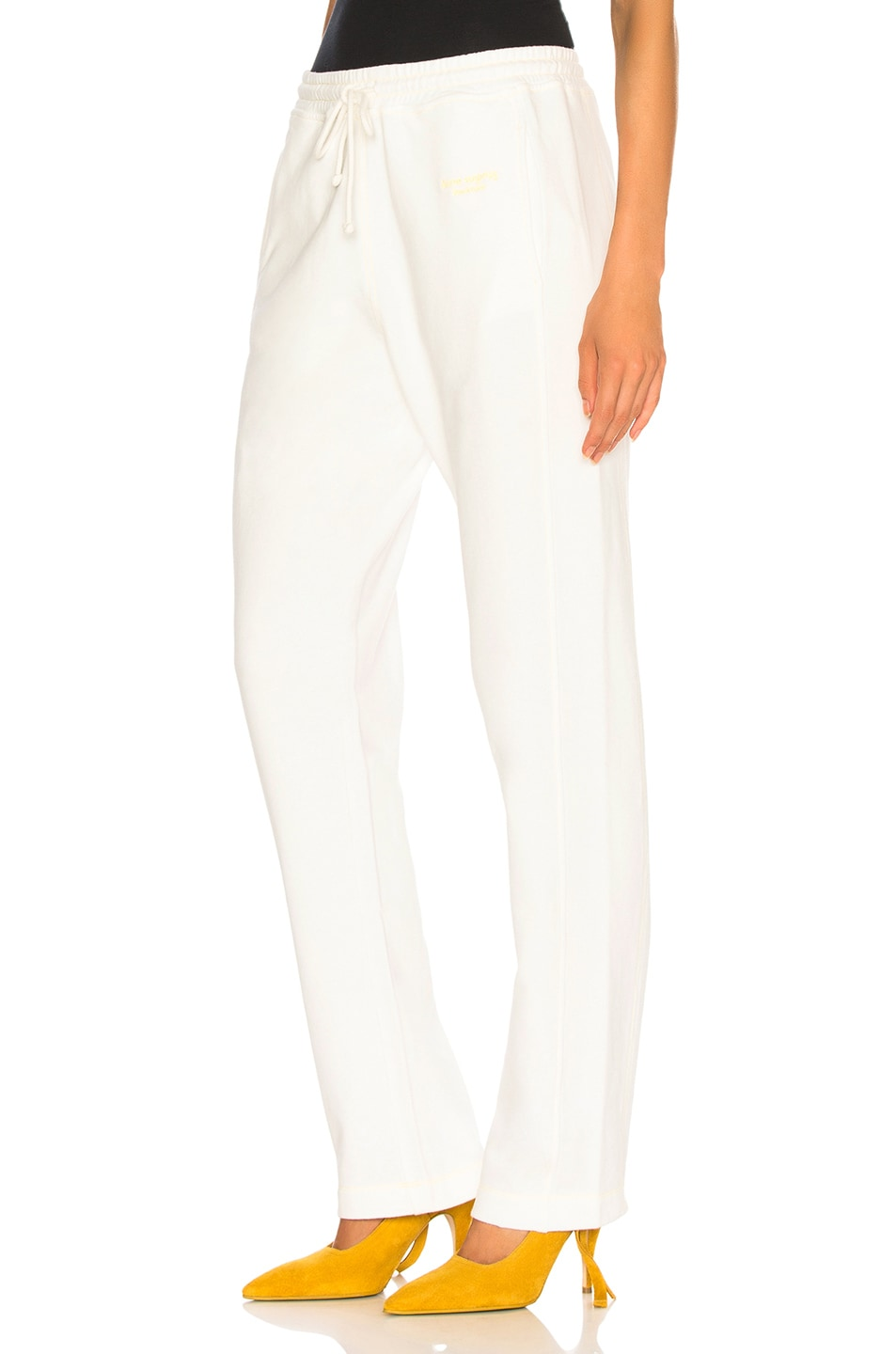 Image 3 of Acne Studios Sweat Pant in White