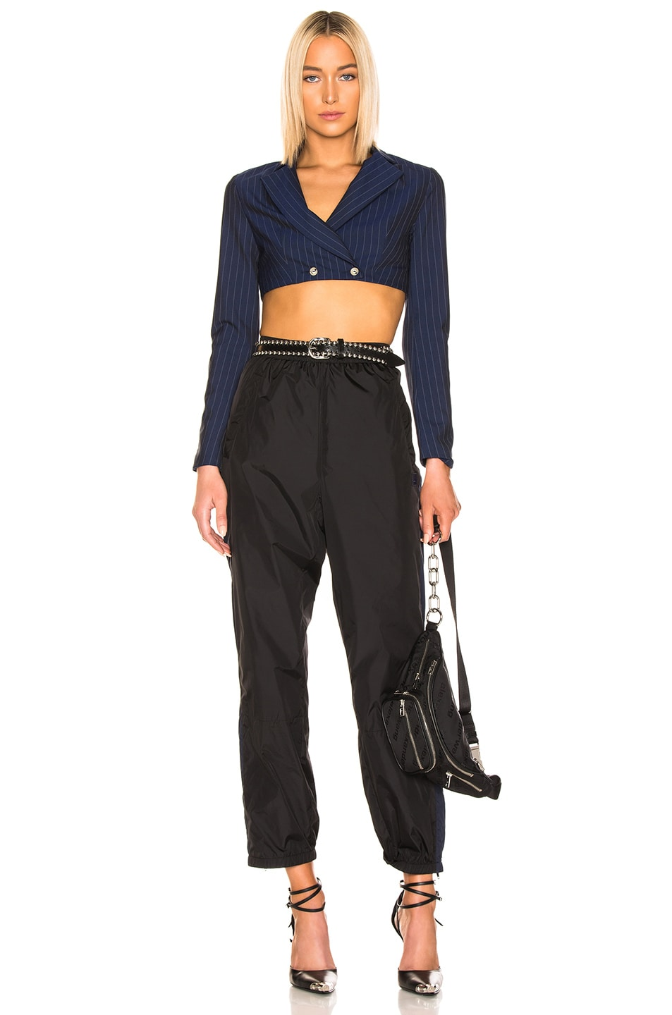 Image 4 of Acne Studios Phoenix Pant in Black