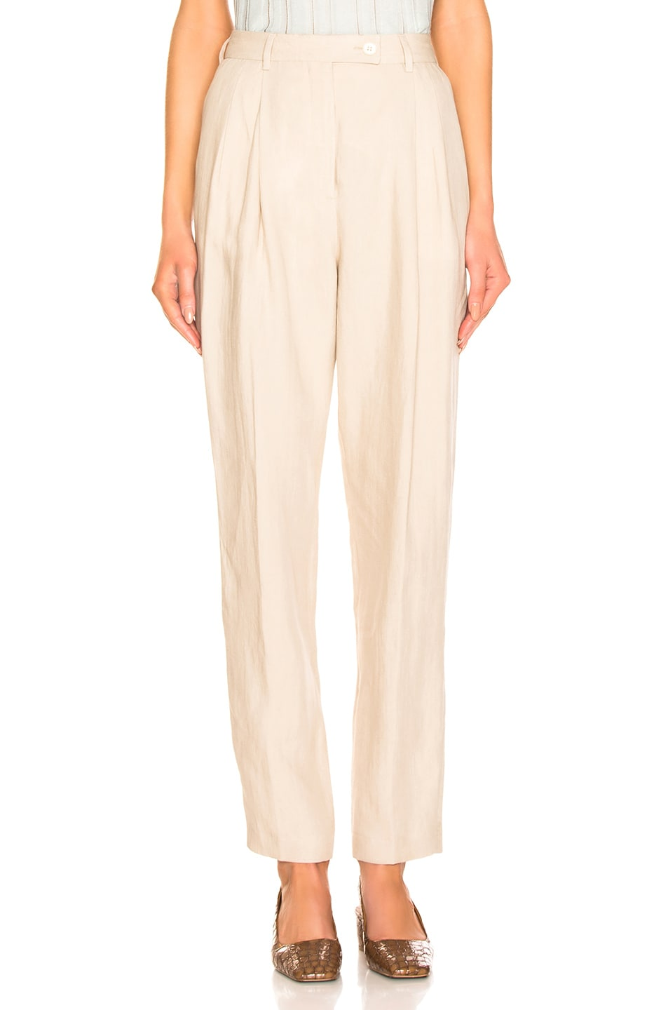 Image 1 of Acne Studios Pati Pant in Sand Beige