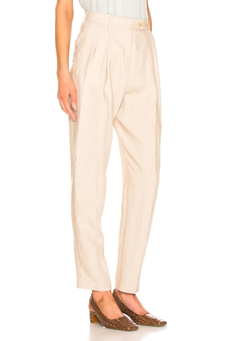 Image 2 of Acne Studios Pati Pant in Sand Beige