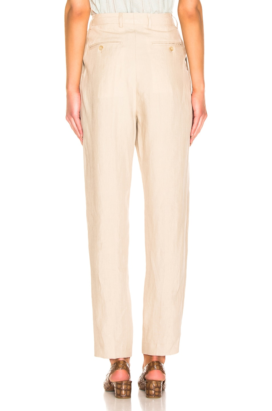 Image 3 of Acne Studios Pati Pant in Sand Beige