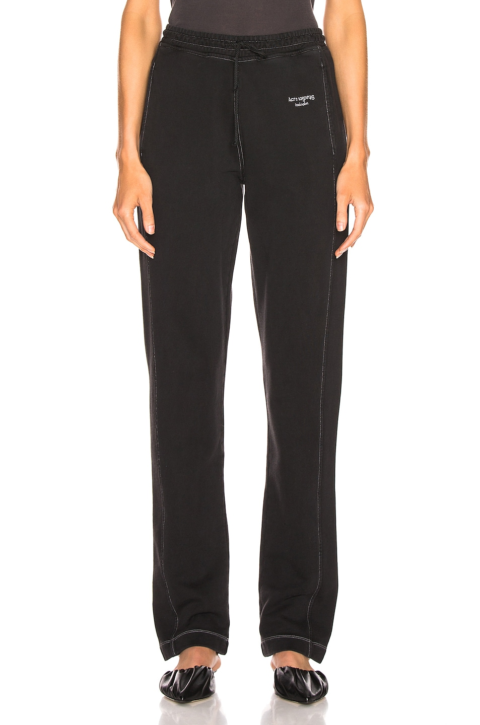 Image 1 of Acne Studios Elodie Pant in Black
