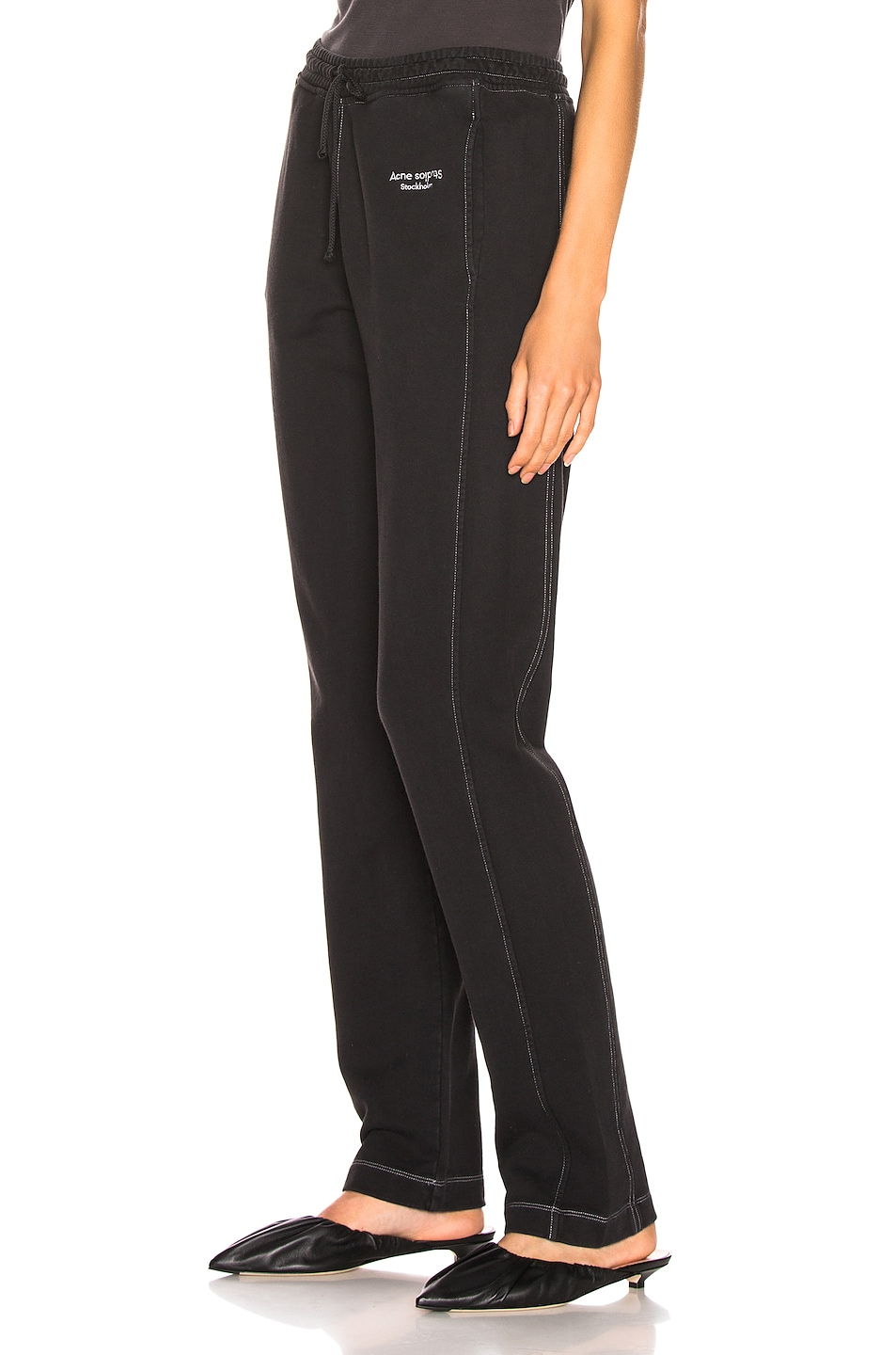 Image 3 of Acne Studios Elodie Pant in Black