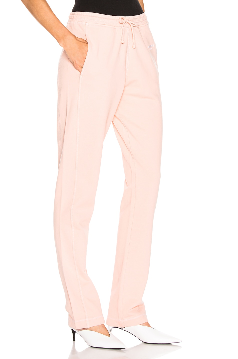Image 2 of Acne Studios Elodie Pant in Pale Orange
