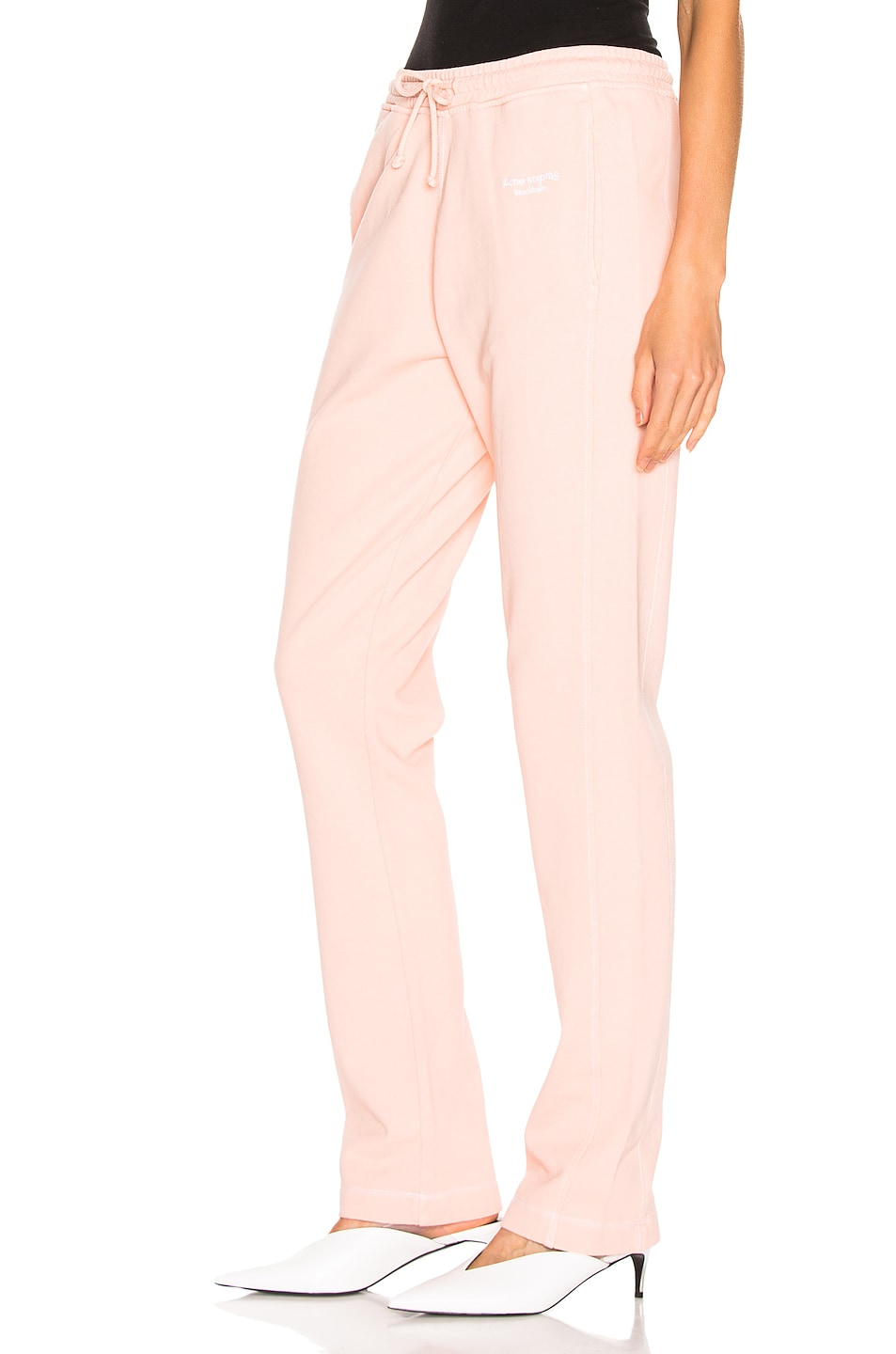 Image 3 of Acne Studios Elodie Pant in Pale Orange