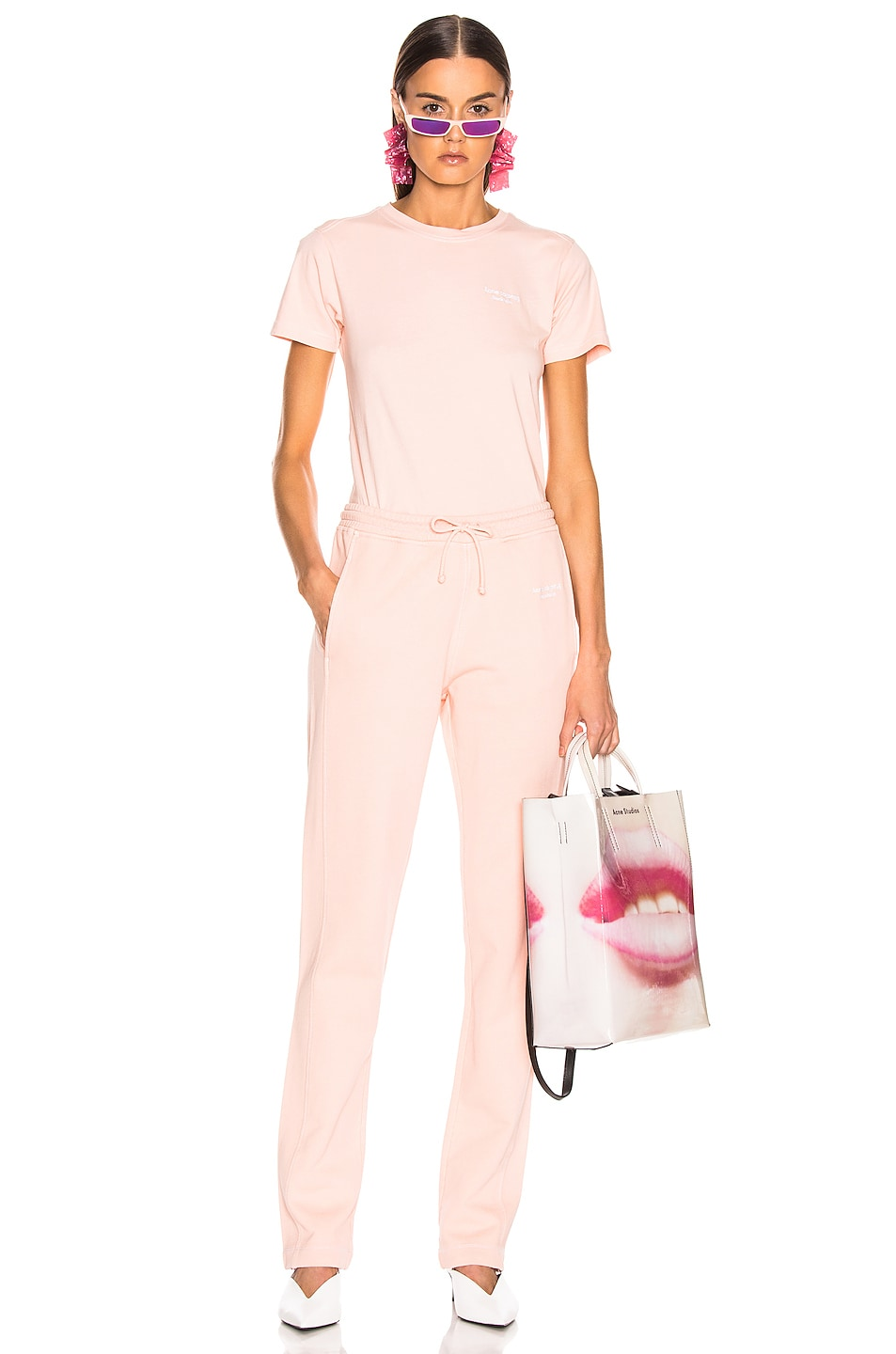 Image 5 of Acne Studios Elodie Pant in Pale Orange