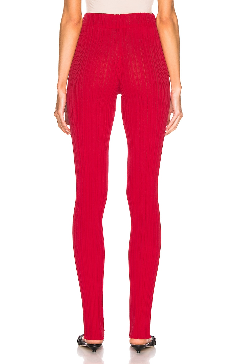 Image 3 of Acne Studios Keera Pant in Tomato Red