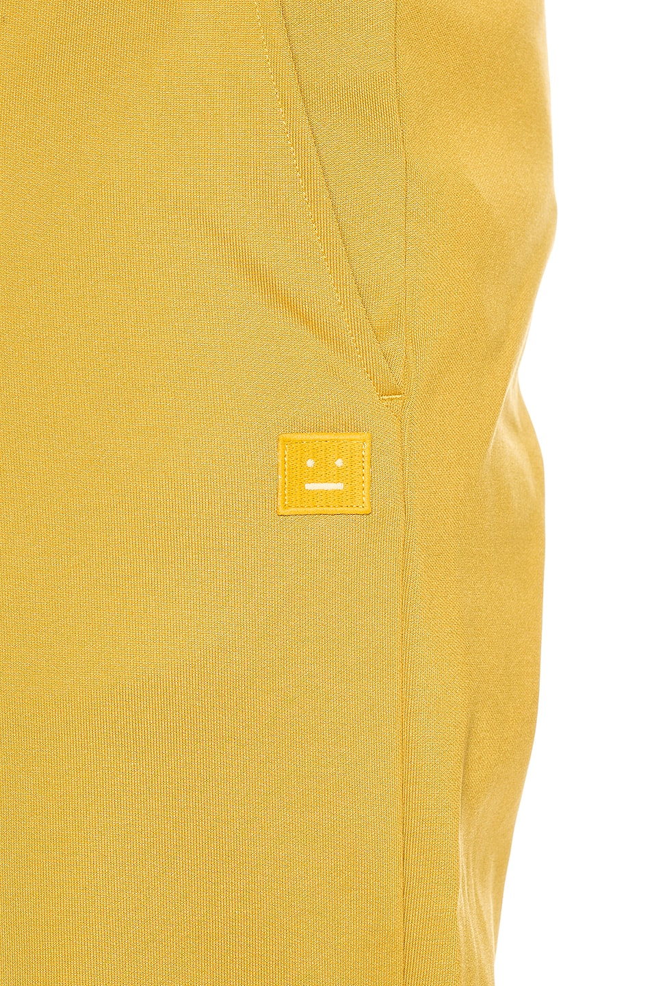 Image 6 of Acne Studios Emmett Face Pant in Amber Yellow