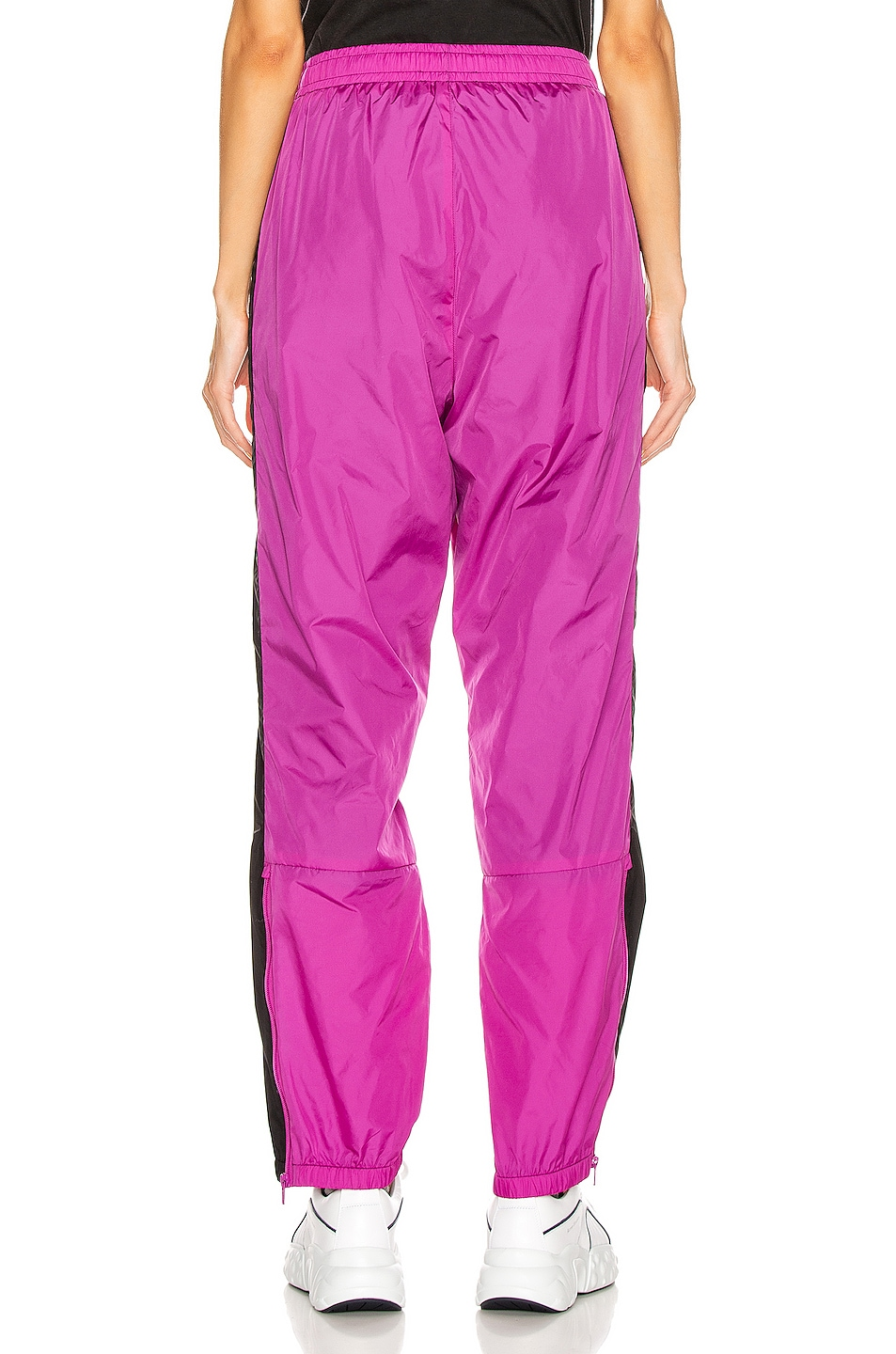 Image 4 of Acne Studios Phoenix Face Track Pant in Magenta Pink
