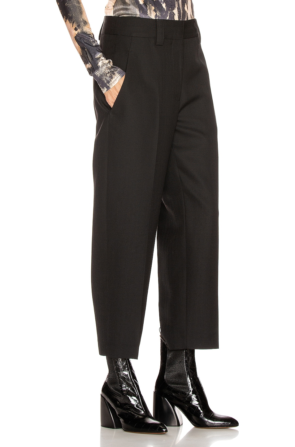 Image 2 of Acne Studios Suiting Trouser in Black
