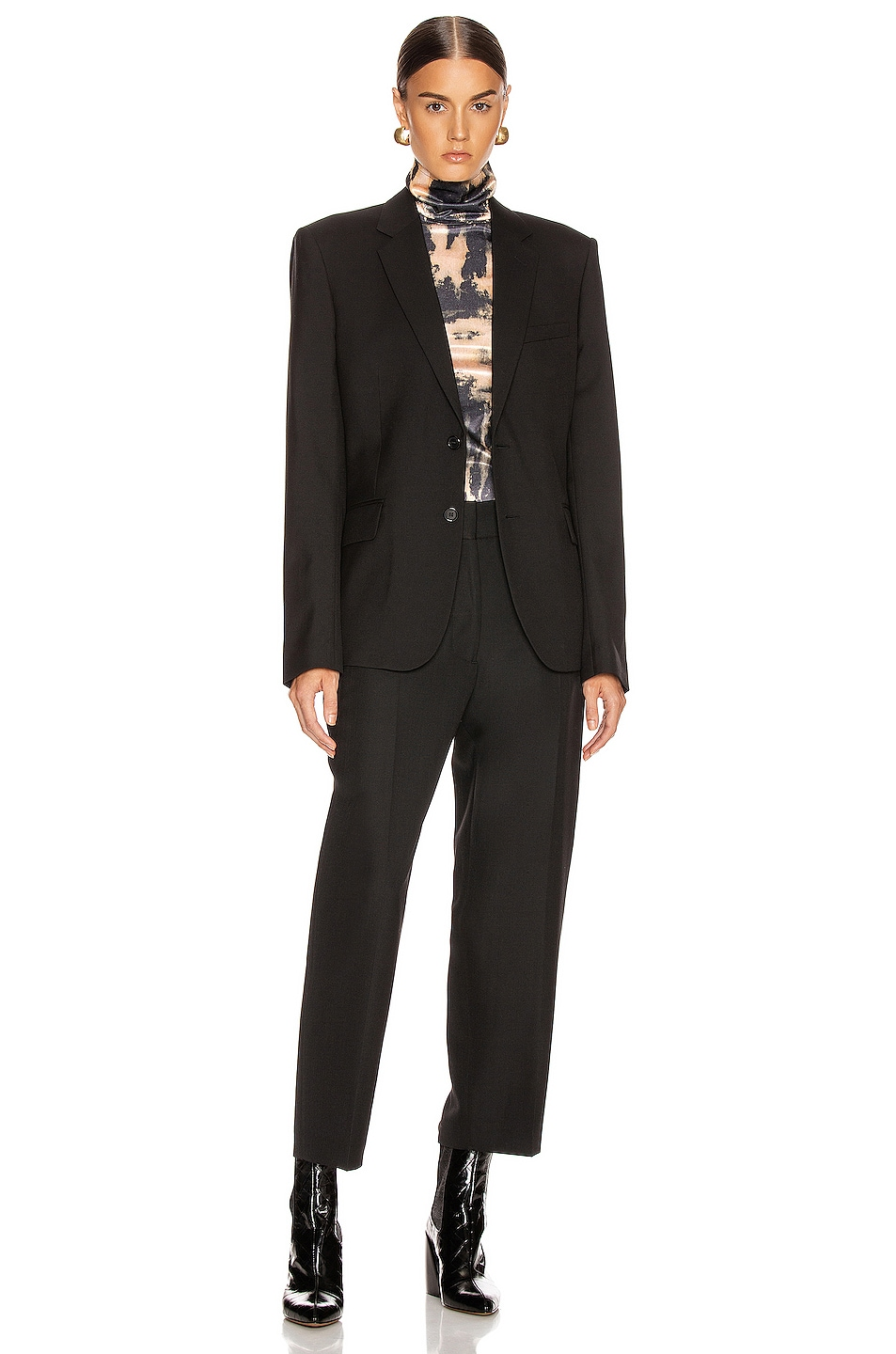 Image 4 of Acne Studios Suiting Trouser in Black