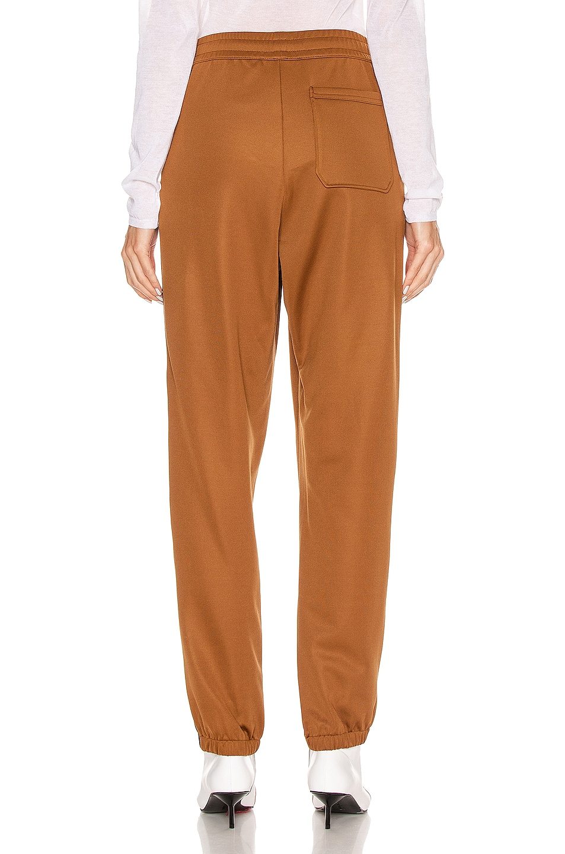 Image 4 of Acne Studios Prescot Face Trousers in Caramel Brown