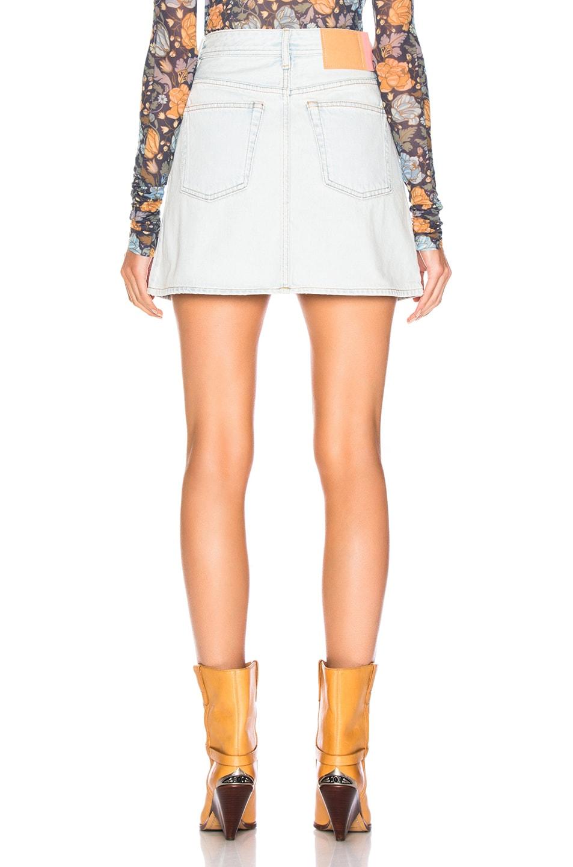 Image 3 of Acne Studios x Bla Konst Mini Skirt in Light Blue