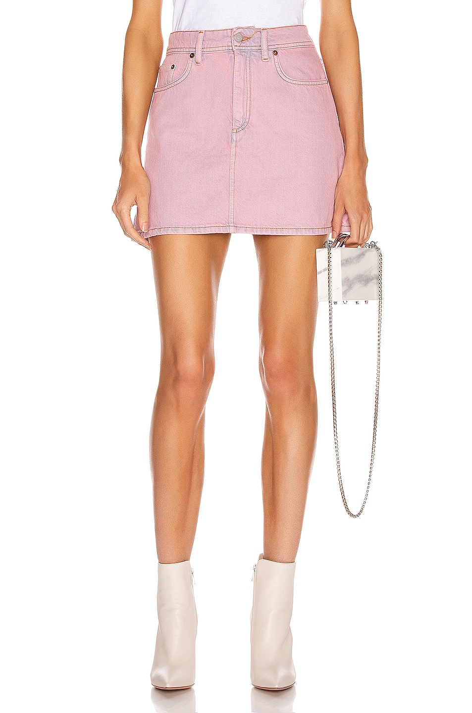 Image 1 of Acne Studios Bla Konst Caitlyn Skirt in Pink