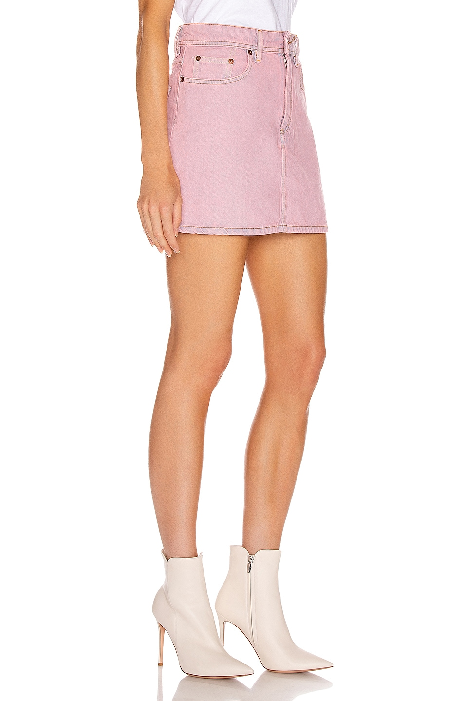 Image 2 of Acne Studios Bla Konst Caitlyn Skirt in Pink