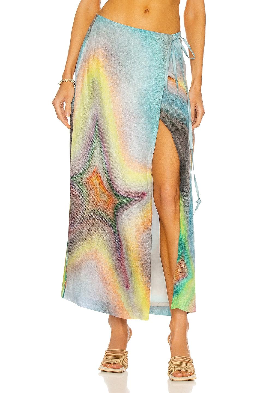 Image 1 of Acne Studios Wrap Skirt in Multi