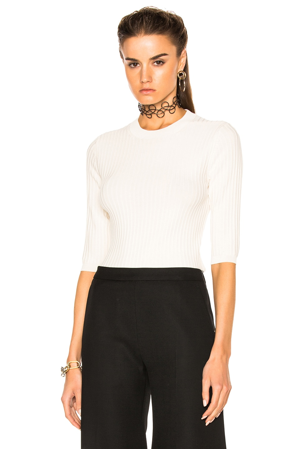 Image 1 of Acne Studios Iza Top in Off White