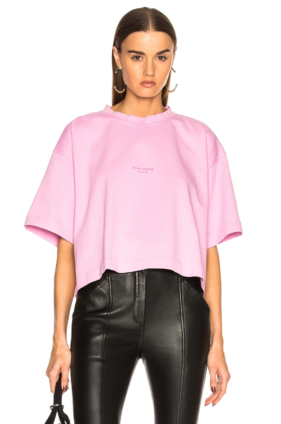 Image 1 of Acne Studios Cylea Tee in Candy Pink