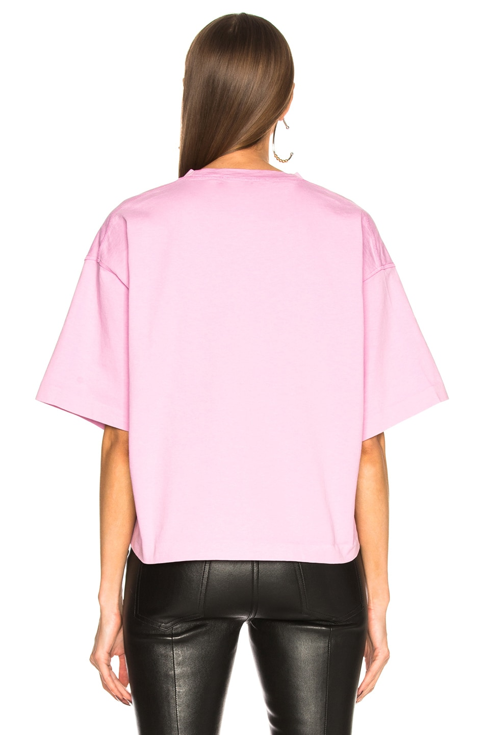 Image 3 of Acne Studios Cylea Tee in Candy Pink