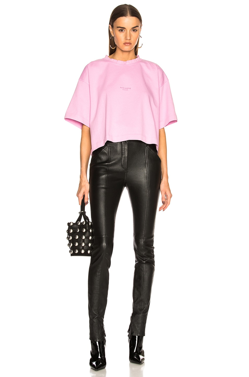Image 4 of Acne Studios Cylea Tee in Candy Pink