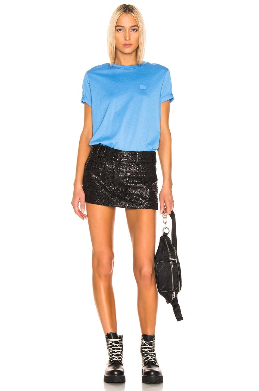 Image 4 of Acne Studios Ellison T Shirt in Aqua Blue