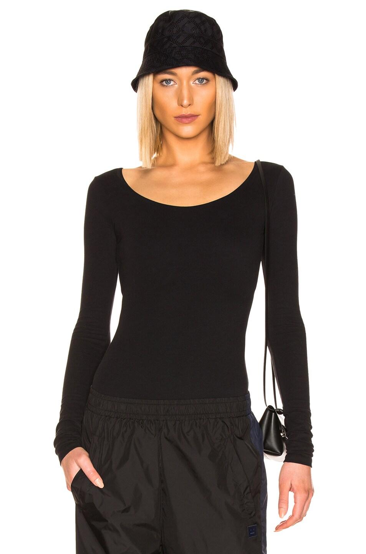 Image 1 of Acne Studios Emanuelle Bodysuit in Black