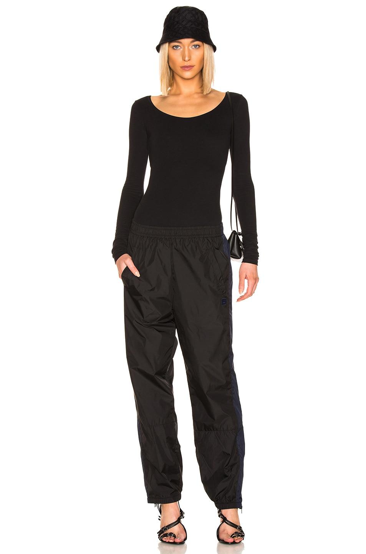 Image 5 of Acne Studios Emanuelle Bodysuit in Black