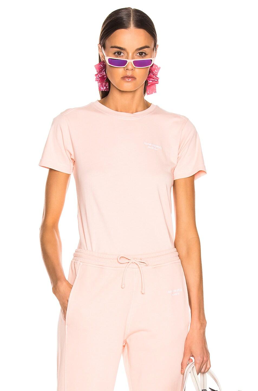Image 1 of Acne Studios Wanda T Shirt in Pale Orange