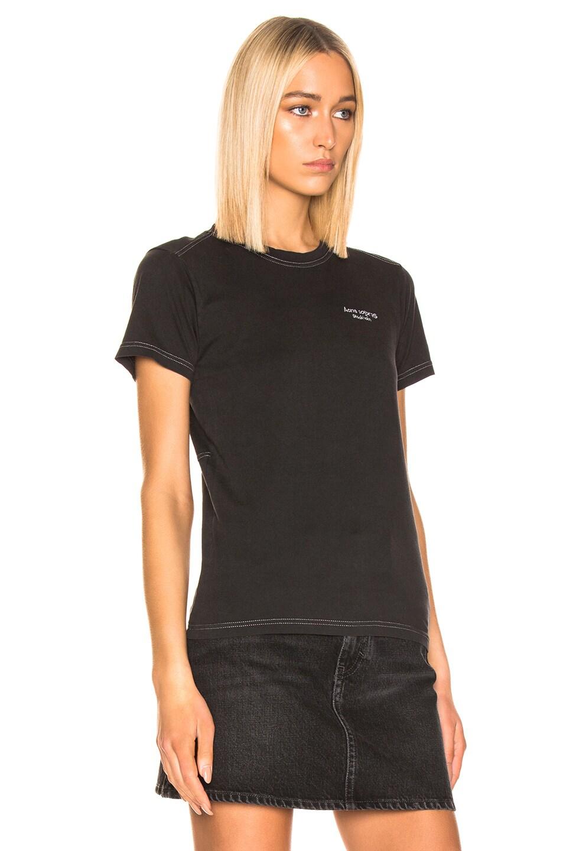 Image 2 of Acne Studios Wanda T Shirt in Black