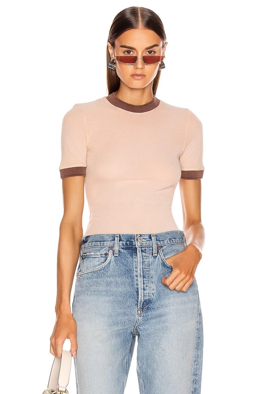 Image 1 of Acne Studios Eva Tshirt in Pale Pink