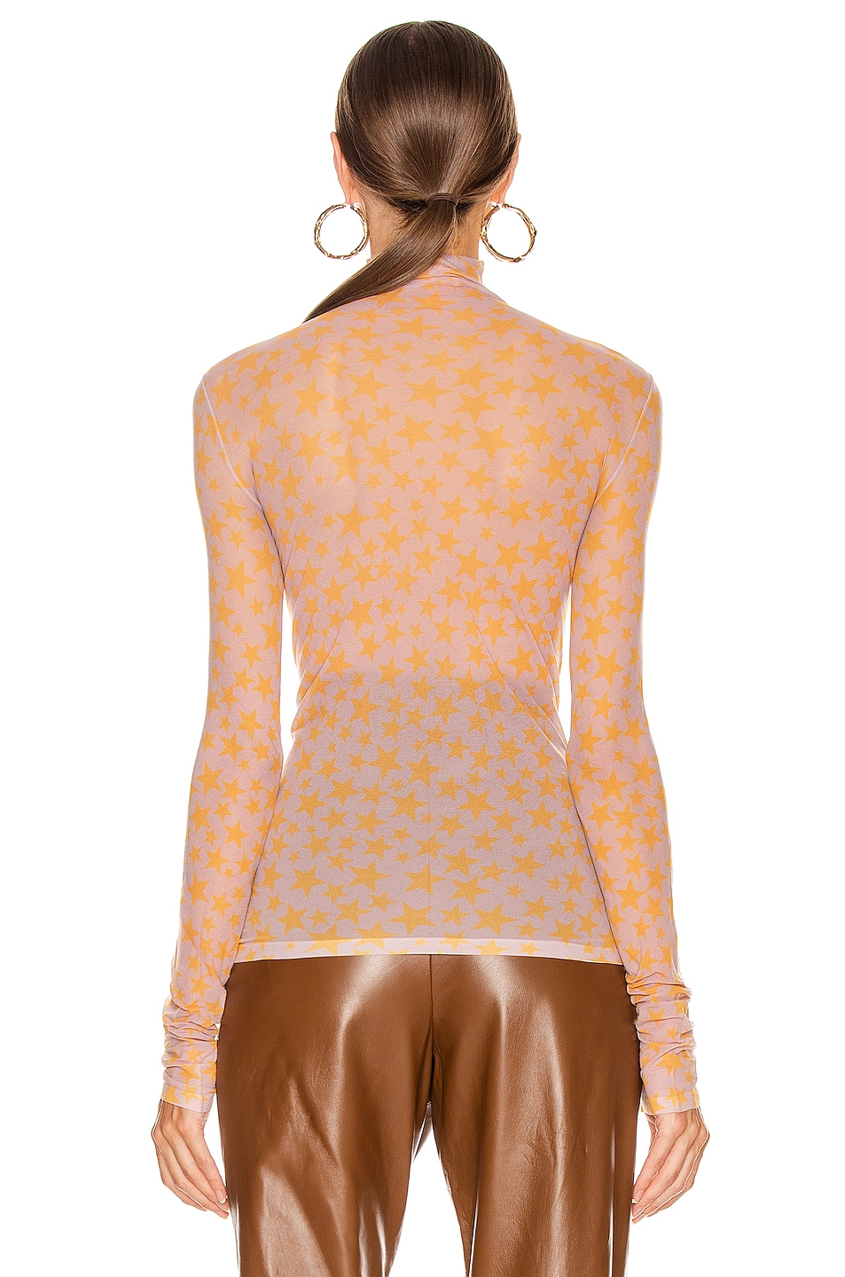Image 3 of Acne Studios Denise T Shirt in Sunflower Yellow
