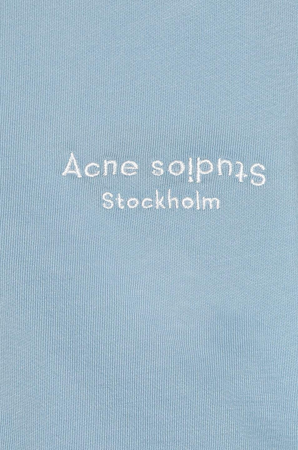 Image 5 of Acne Studios Elvana T Shirt in Dusty Blue