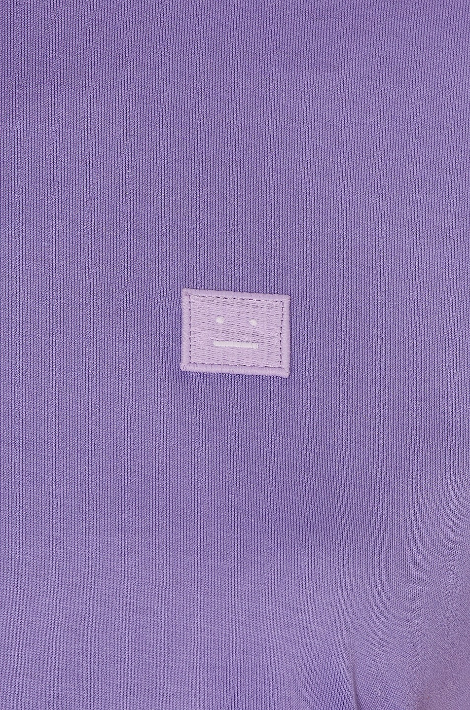 Image 5 of Acne Studios Face Tee in Lavender Purple