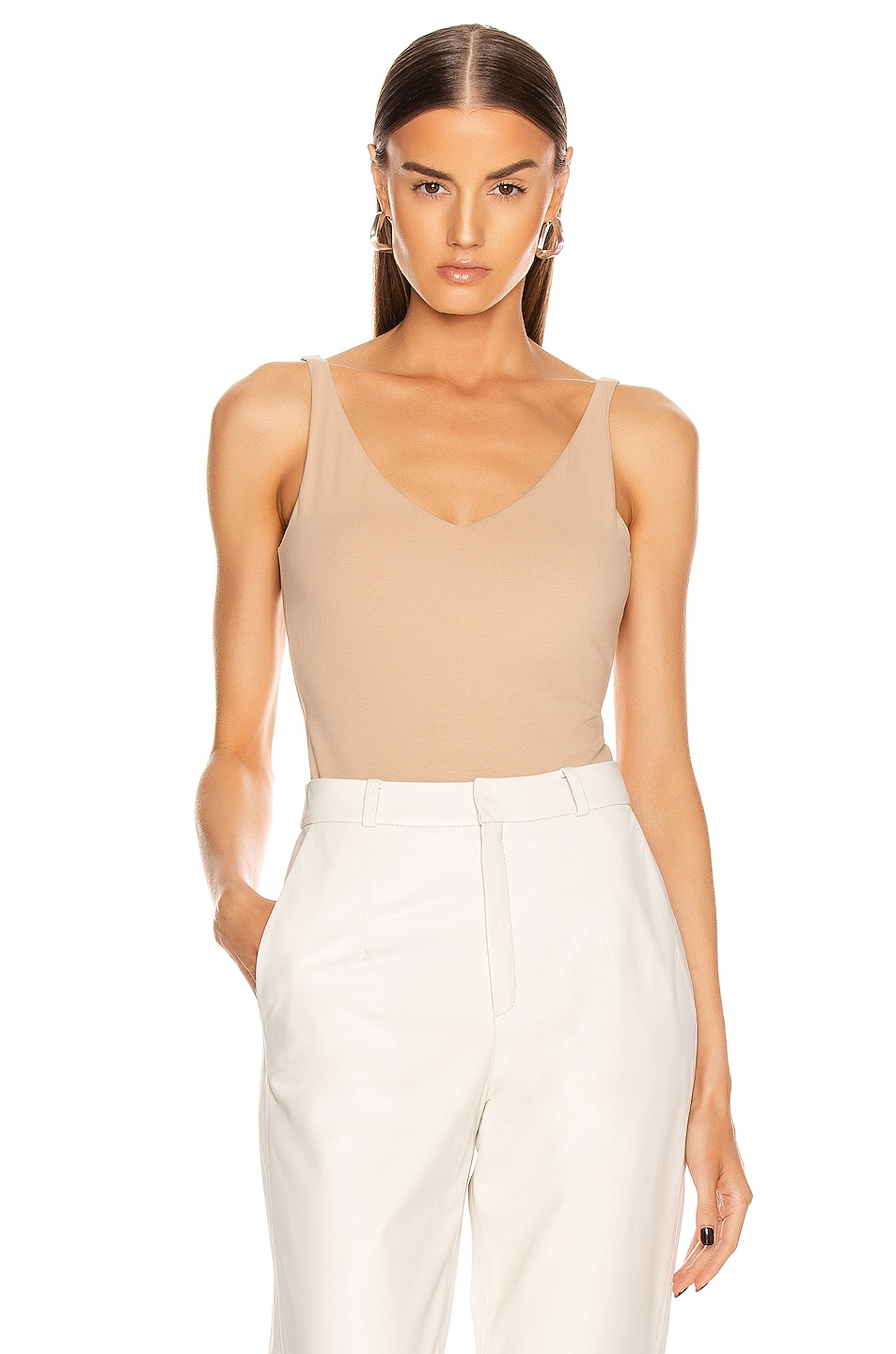 Image 1 of Acne Studios Ellisy Bodysuit in Beige