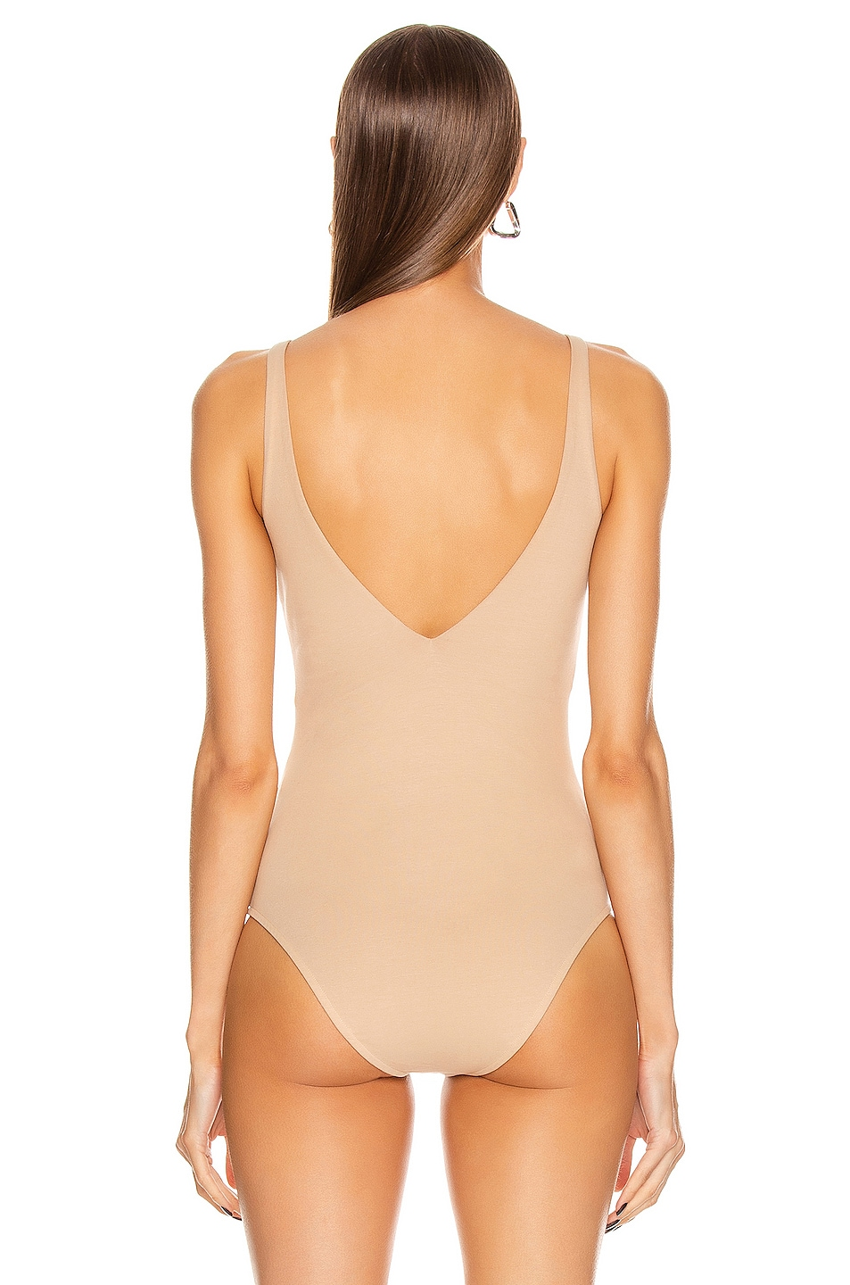 Image 4 of Acne Studios Ellisy Bodysuit in Beige