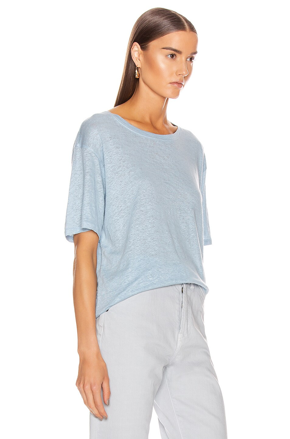 Image 2 of Acne Studios T-Shirt in Powder Blue