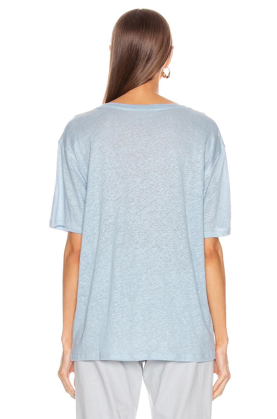 Image 3 of Acne Studios T-Shirt in Powder Blue