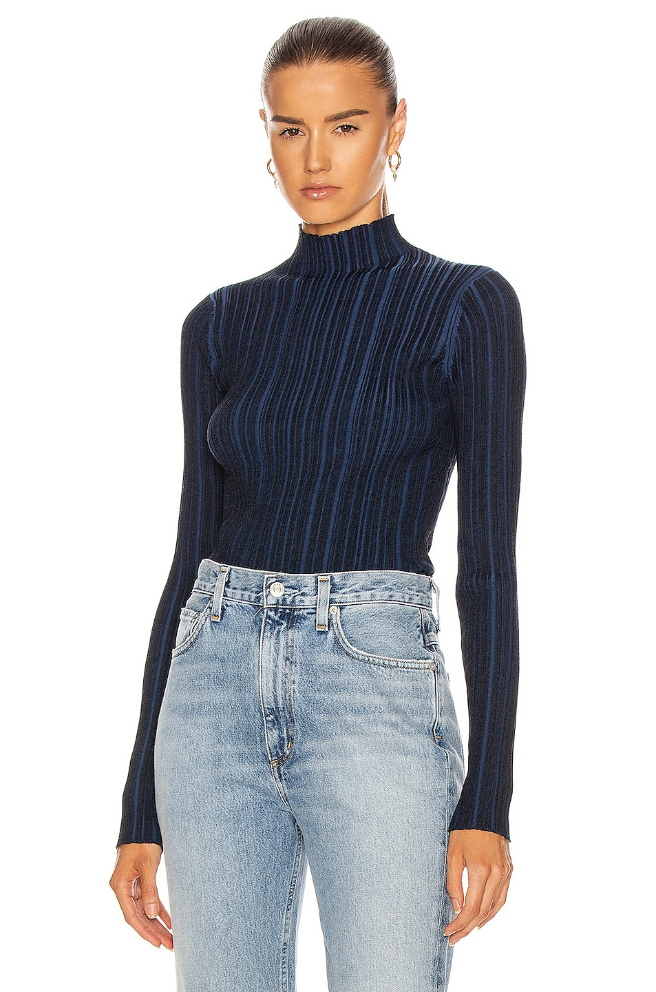Image 1 of Acne Studios Katina Top in Midnight Blue