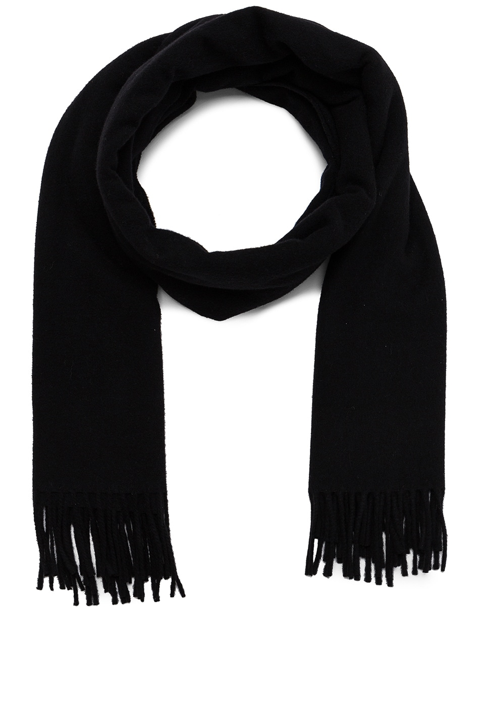 Image 1 of Acne Studios Canada Scarf in Black