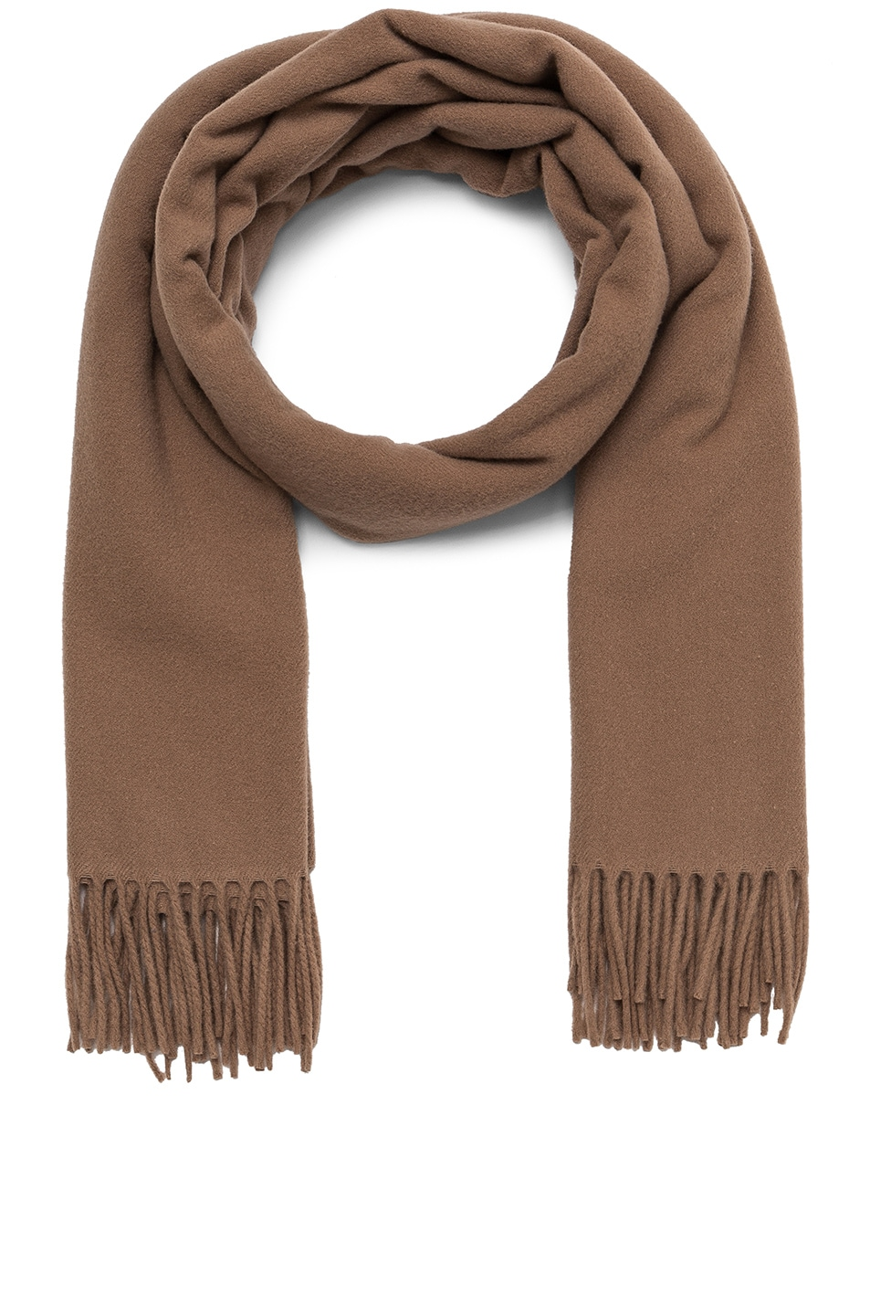 Image 1 of Acne Studios Canada Scarf in Caramel Brown