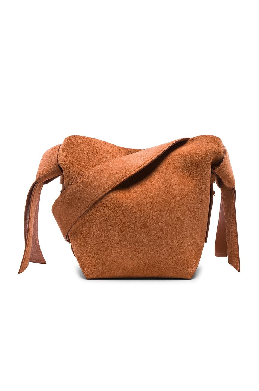Image 1 of Acne Studios Musubi Mini Bag in Almond Brown