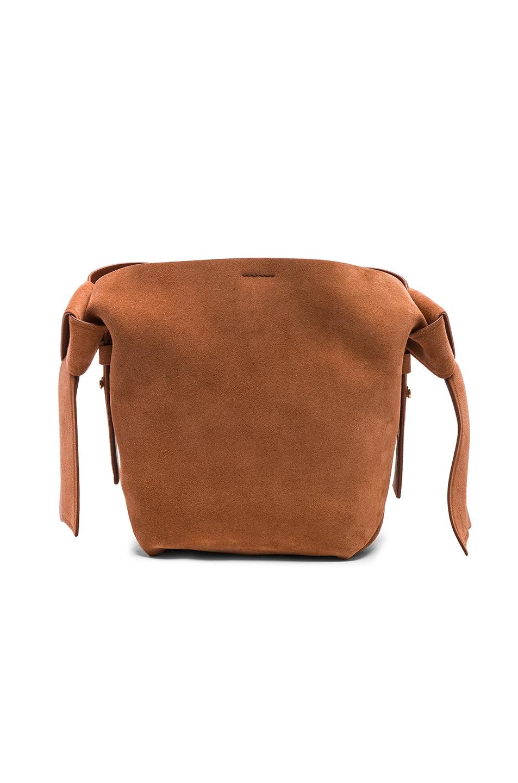 Image 3 of Acne Studios Musubi Mini Bag in Almond Brown