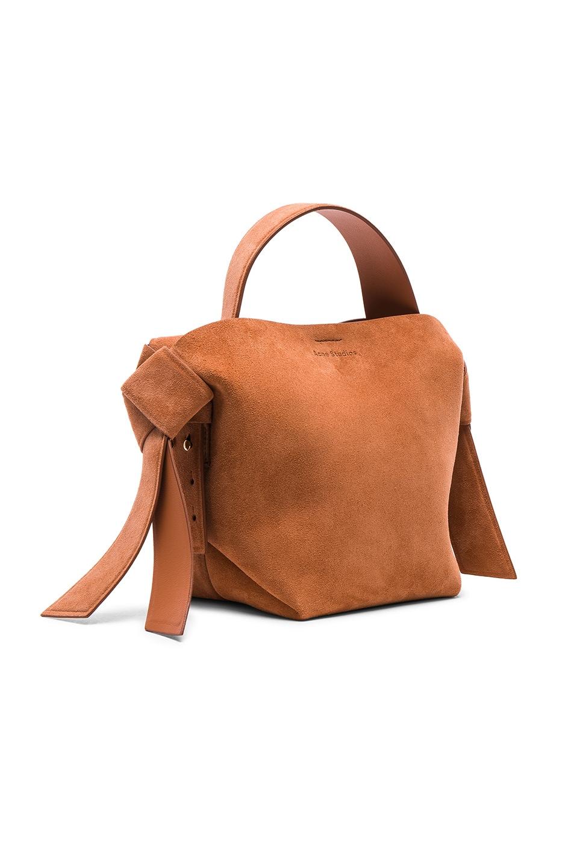 Image 4 of Acne Studios Musubi Mini Bag in Almond Brown
