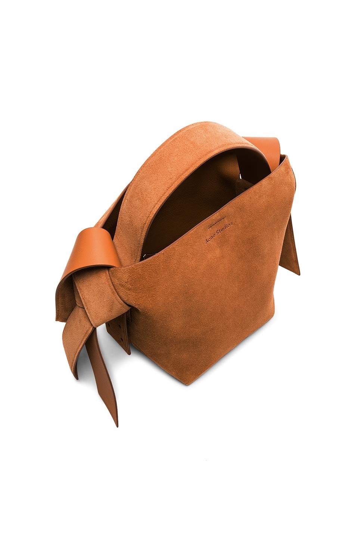 Image 5 of Acne Studios Musubi Mini Bag in Almond Brown