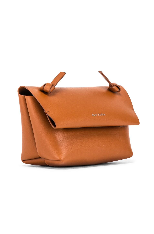 Image 4 of Acne Studios Mini Bag in Cognac Brown