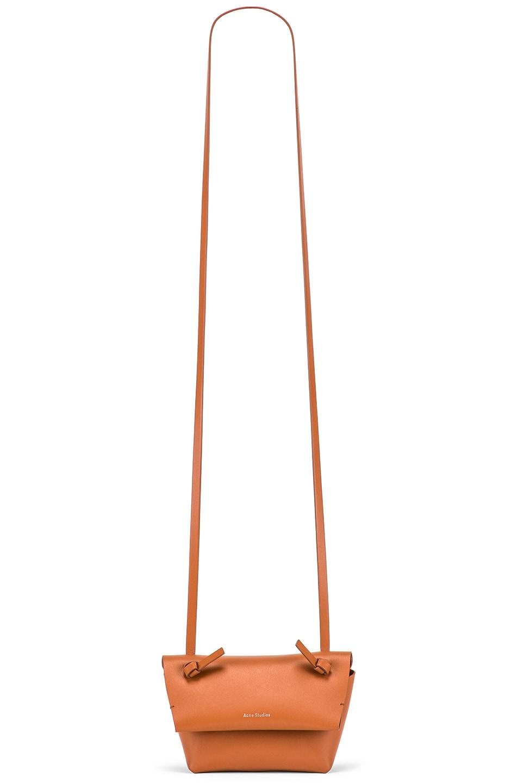 Image 6 of Acne Studios Mini Bag in Cognac Brown