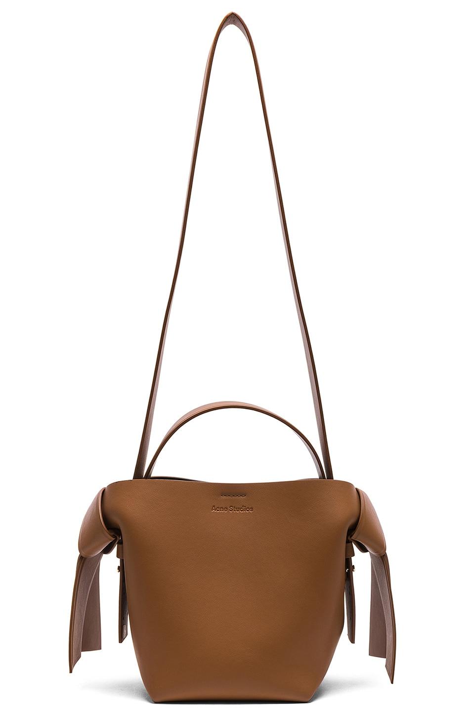 Image 6 of Acne Studios Musubi Mini Bag in Brown