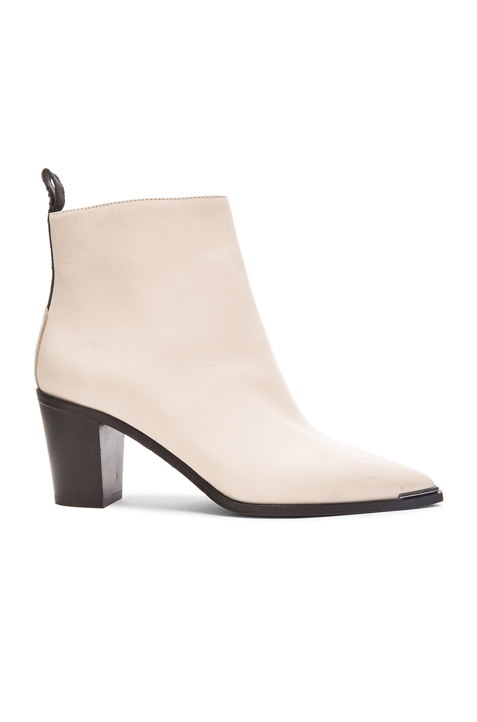 Image 1 of Acne Studios Loma Boots in Cream